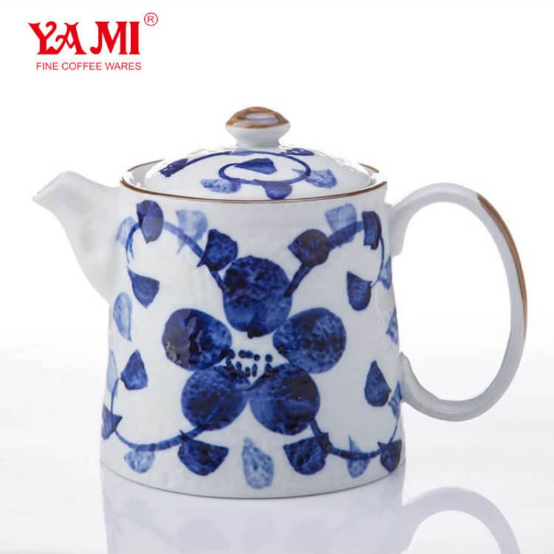 Chinese Traditional PorcelainCeramic Coffee KettlePour Over Coffee Pot