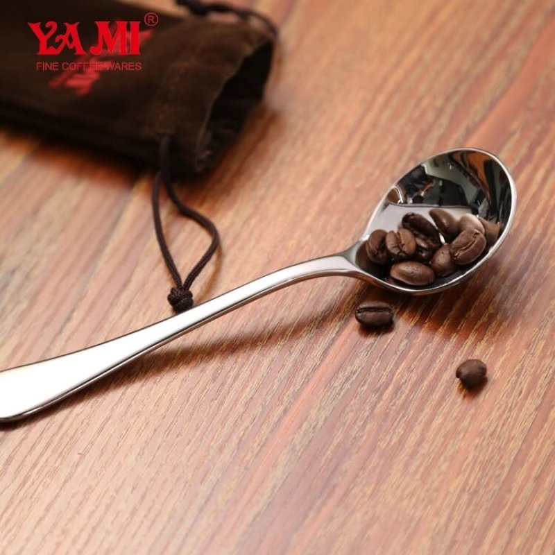 Yami Professional Stainless Steel Coffee Cupping Spoon Measuring spoon