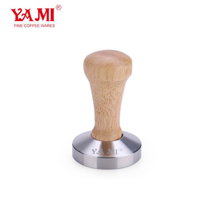 Solid Wood Handle Coffee Tamper