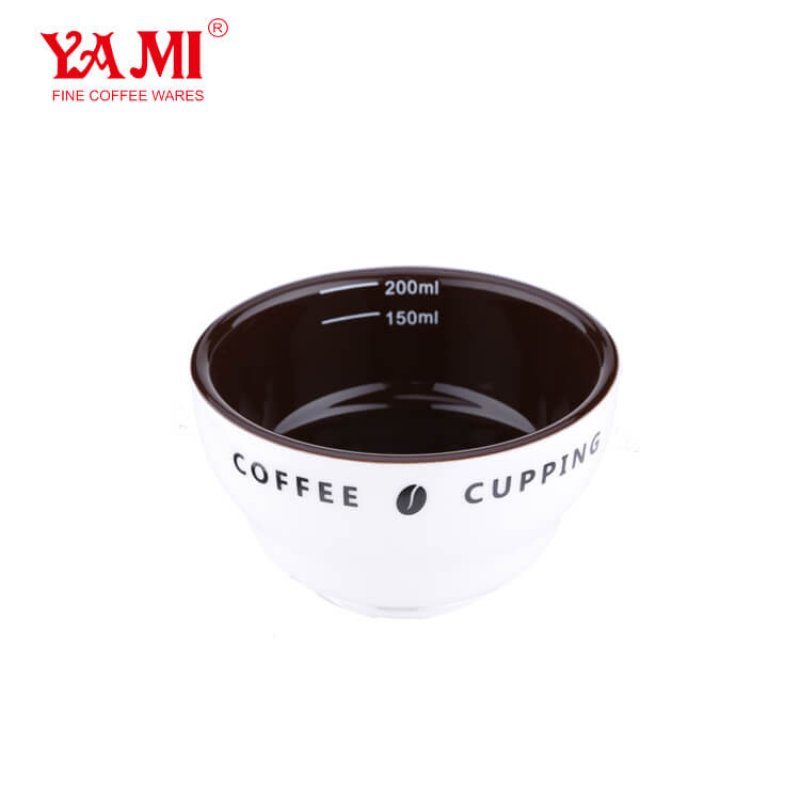 High Quality and Hotsale Creamic Coffee Cupping Bowl