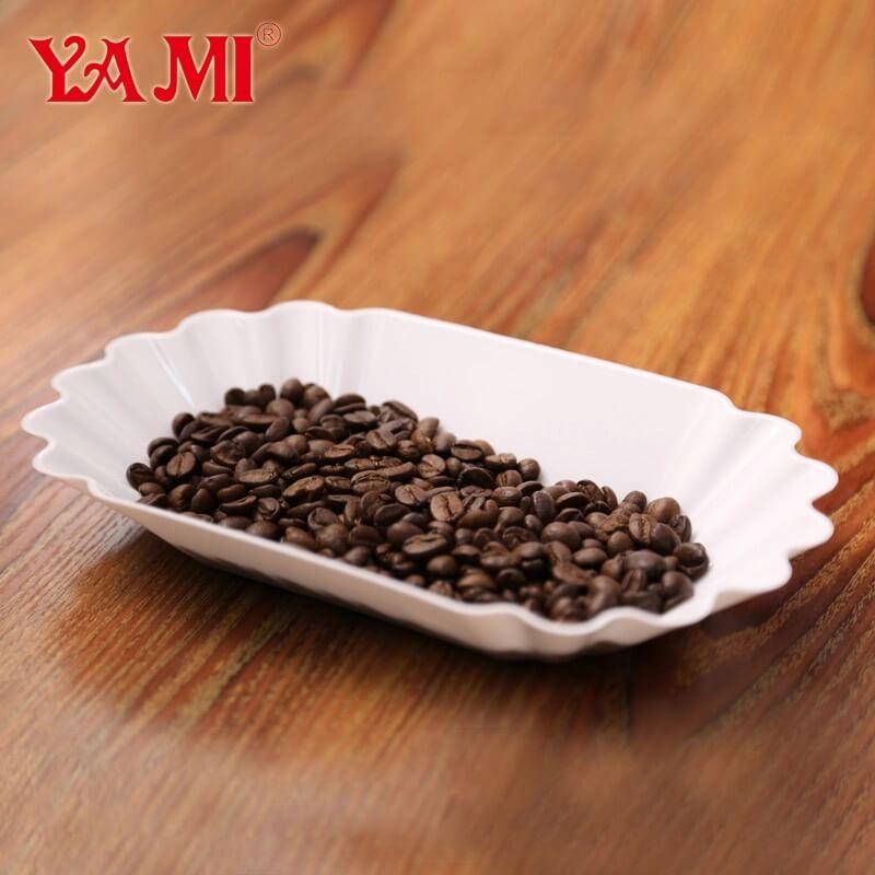 coffee bean display tray