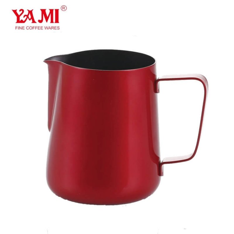 Wholesale Multicolor Stainless Steel Milk Frothering Pitcher