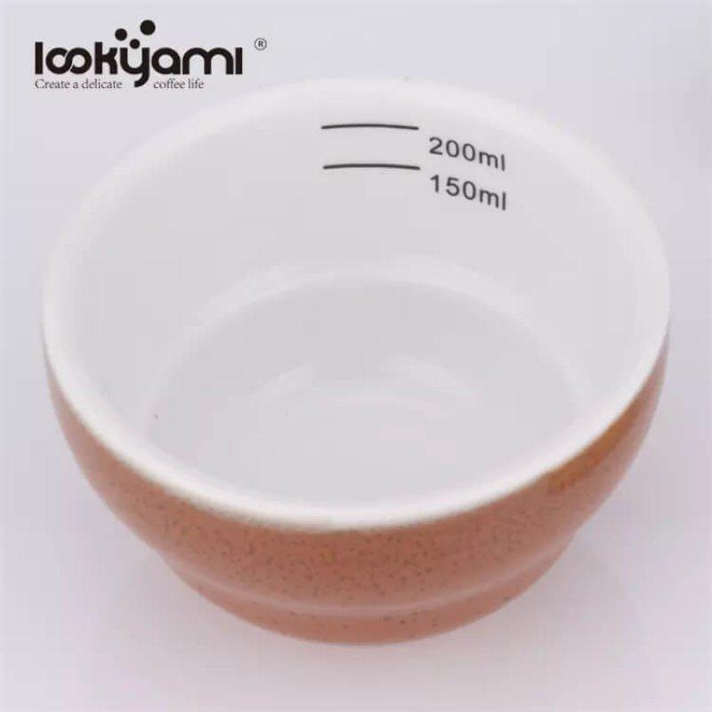 Retro Amanda Ceramic Coffee Cupping 200ml Professional Coffee Tasting Espresso Cupping Cup Ceramic