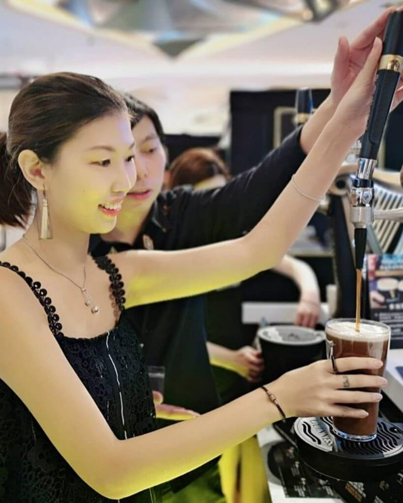 Hong Kong Carlsberg hosts the Guinness Pure Black Experience Hall
