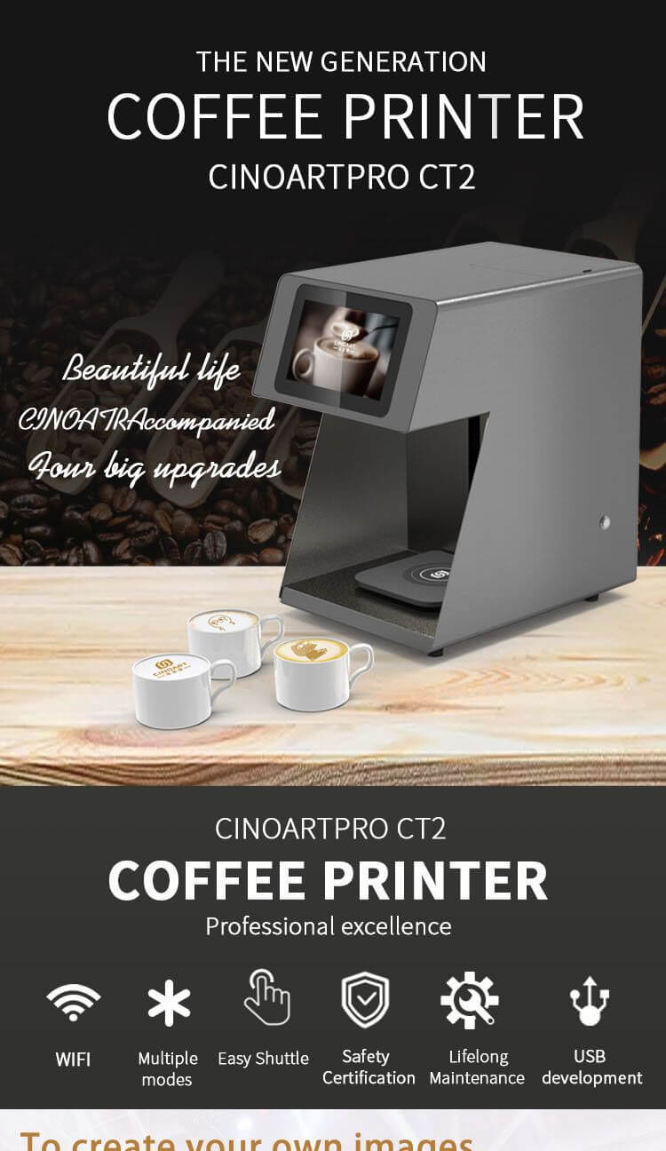 3d art printer,cappuccino art