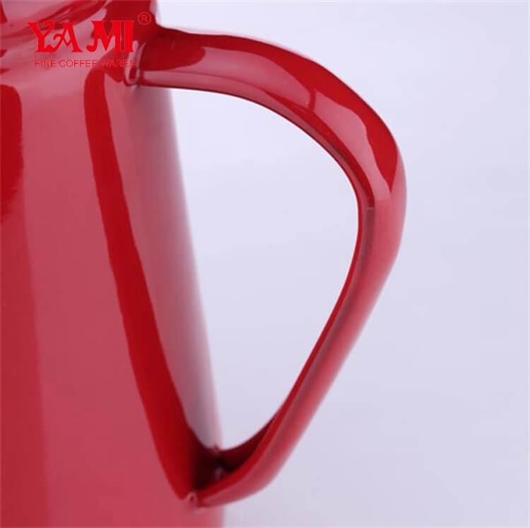 Enamel Drip Kettle/Coffee and Tea Pot